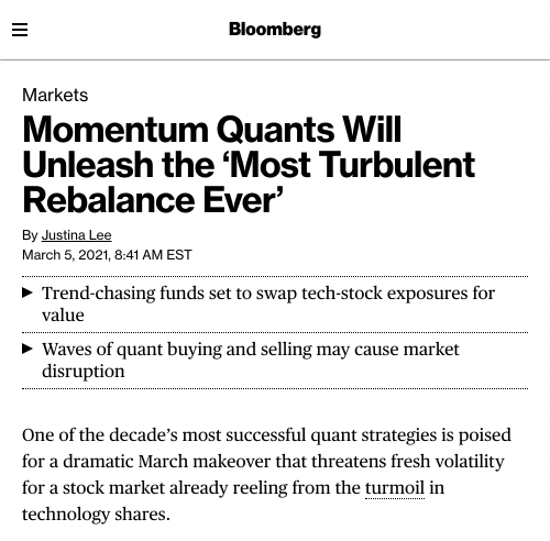Bloomberg Story on 3FR Momentum Report